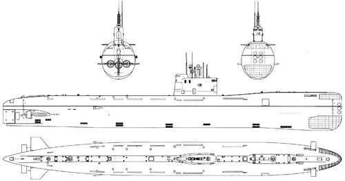 USSR Project 641B Tango -class Submarine 1