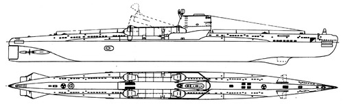 USSR Project 644 Whiskey Twin Cylinder -class SSB Submarine