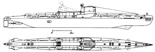 USSR Project 644 [Whiskey Twin Cylinder -class SSB Submarine]