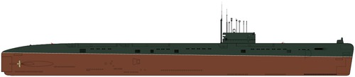 USSR Project 659 Echo I-class Submarine