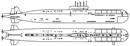 USSR Project 661 Anchar [Papa-class Submarine]
