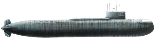 USSR Project 667A Navaga [Yankee-class SSBN Submarine]