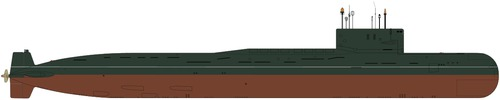 USSR Project 667A Navaga Yankee-class Submarine