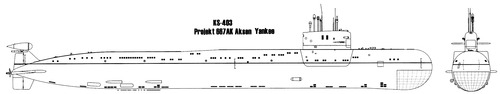 USSR Project 667AK Navaga [Yankee -class SSBN Submarine]