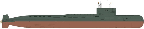 USSR Project 667AU Nalim [Yankee-class SSBN Submarine]