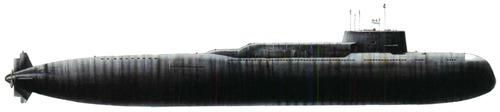 USSR Project 667B [Delta I class Murena SSBN Submarine]