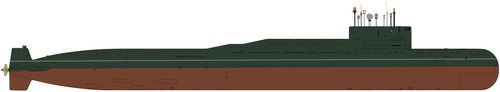 USSR Project 667B Murena Delta I-class Submarine
