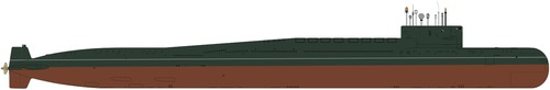 USSR Project 667BD Murena-M Delta II-class Submarine