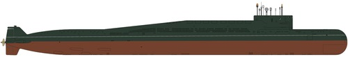 USSR Project 667BDR Kalmar Delta III-class Submarine