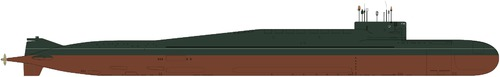 USSR Project 667BDRM Delfin Delta IV-class Submarine