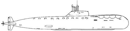 USSR Project 670A Skat Charlie I-class Submarine