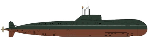 USSR Project 670A Skat Charlie I-class Submarine