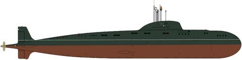 USSR Project 671 Yersh Victor I-class Submarine