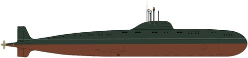 USSR Project 671RT Semga Victor II-class Submarine