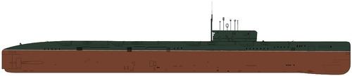 USSR Project 675 Echo II-class Submarine