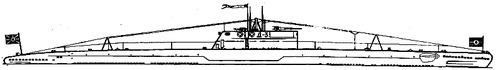 USSR Project 6 D-3 Krasnogvardyeyets 1929 (Dekabrist-class Submarine)