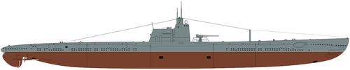 USSR Project 6 Dekabrist-class Submarine