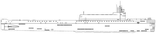 USSR Project 701 K-145 Hotel III-class SSB Submarine