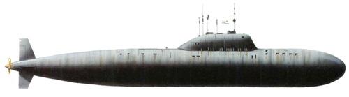 USSR Project 705 Lira Alfa-class Submarine