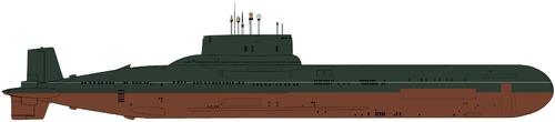 USSR Project 941 Akula Typhoon-class Submarine
