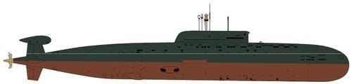 USSR Project 945A Kondor Sierra II-class Submarine
