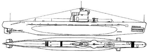 USSR Project 96 M-class Submarine