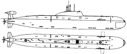 USSR Project 971 Akula [Submarine]