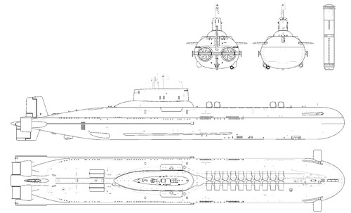 USSR Project 971 Akula [Submarine]