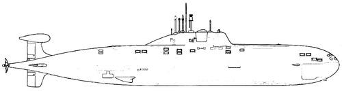 USSR Project 971U Akula [Submarine]