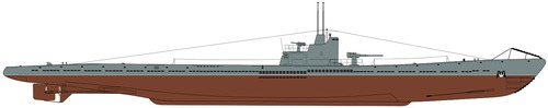 USSR Project 9 S-56 (S-class Submarine)