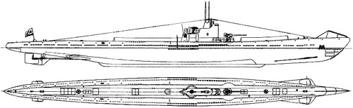 USSR Project 9 S-56 [S-class Submarine]