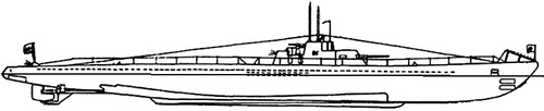 USSR Project 9 S-9 1941 (S-class Submarine)