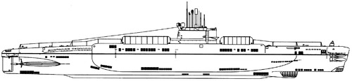 USSR S-273 Project 613E [Whiskey -class SSB Submarine]