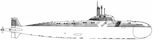 USSR SSN Victor I