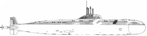 USSR SSN Victor II