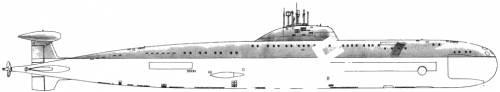 USSR SSN Victor III