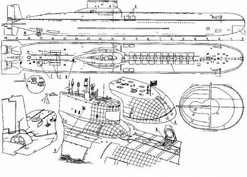 USSR Typhoon Class 2