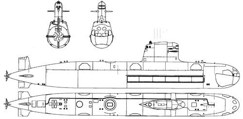 ARC O'Higgins SS-23 (Submarine)