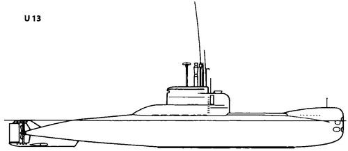FGS S192 U13 [Type 206 Submarine]