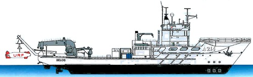 HSwMS Belos A214 [Submarine Rescue Ship]