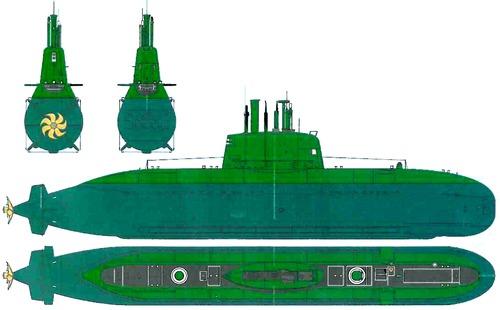 INS Dolphin [Submarine] - Israel