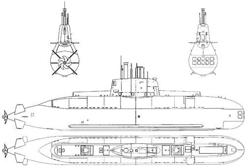 INS Leviathan (Dolphin-class Submarine)