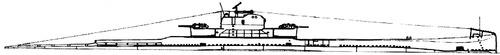 JRM Nebojsa 1941 [Submarine] Yugoslavia