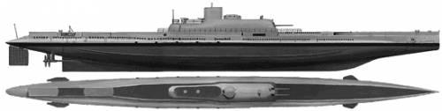MNF Surcouf (Submarine) (1939)