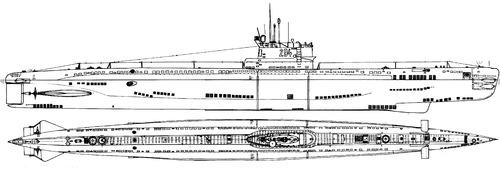 ORP Kondor Project 613 Whiskey-class Submarine