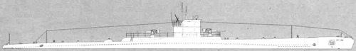 RN Ammiraglio Cagni 1942 (Submarine)