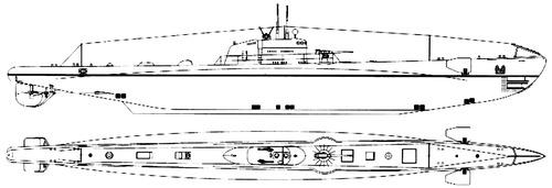 RN Argo 1941 [Submarine]