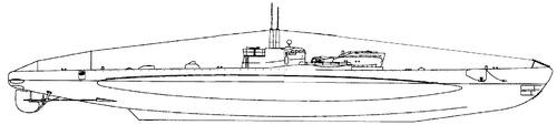 RN Da Vinci 1942 (Submarine)