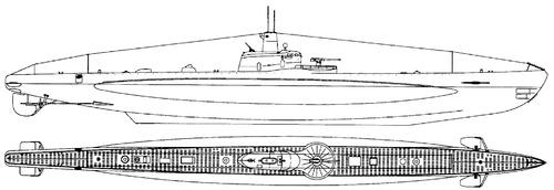 Rn Guglielmo Marconi 1940 (Submarine)