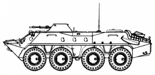 Russian btr-7